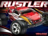 Traxxas Rustler 1:10 RTR modrý