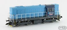 Dieselová lokomotíva 742.029 (ex. T466.2) ČD ep.V, TT
