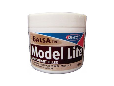 Ľahký tmel na drevo Model Lite Balsa farba balzy, 240ml