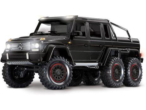 Traxxas TRX-6 Mercedes G 63 6x6 1:10 TQi RTR čierna