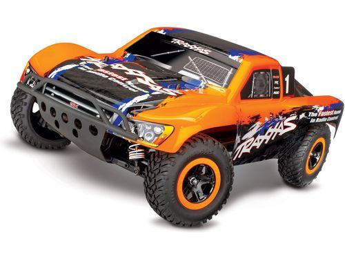 Traxxas Slash 1:10 VXL 4WD TQi RTR oranžový